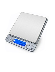 Baking Kitchen Scale 0.1G Food Jewelry Scales Electronic Scales 0.01 G (Sale Chinese Version 500G / 0.01G + Double Pan)