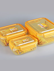 3 in 1 Food Grade Stackable Plastic Containers with Air Hole
