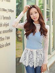 DABUWAWA® Femme A Bretelles Sans Manches Pull & Cardigan Bleu-D15CKT022