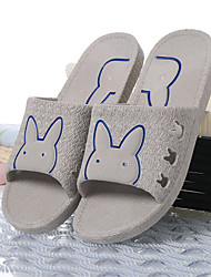 Sapatos Masculinos-Chinelos e flip-flops-Azul / Cinza / Caqui-PVC-Casual