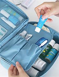 viajando com um saco de cosméticos saco saco grande de lavar capacidade contendo viagens multifuncional
