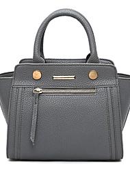 Women's Popular Classic Fashion Tote   black  gray  purple