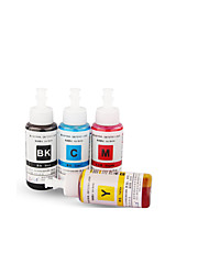 Canon Ink Applicable Ca 1800 2800 70ML,A Pack Of 4Boxes, Each Box Different Colors,Black, Red, Yellow, Cyan