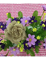 Jute Wedding Decorations-1Piece/Set Artificial Flower Engagement / Wedding / Birthday Garden Theme