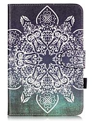 Para Porta-Cartão / Com Suporte / Estampada Capinha Corpo Inteiro Capinha Other Macia Couro PU Apple iPad Mini 4
