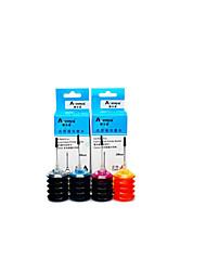 hp 802 recharge d'encre encre 10001050 un pack de 4 boîtes, boîte chaque différentes couleurs, noir, bleu, rouge, jaune