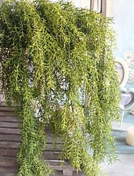1 Une succursale Polyester Plastique Plantes Autres Guirlande et Fleur Murale Fleurs artificielles 65(25.59'')