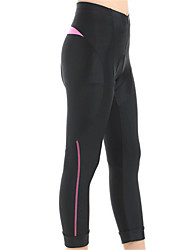 Sports Cycling 3/4 Tights Women's Breathable / Windproof / Compression Bike 3/4 Tights Spandex / Coolmax ClassicExercise & Fitness /