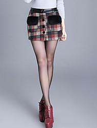Damen Hose - Einfach / Niedlich Kurze Hose Andere Mikro-elastisch