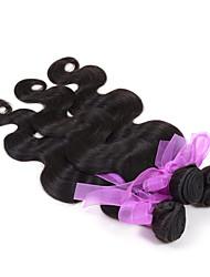 Peruvian Virgin body wave Hair Weaving Natural Black 8-26 inches 3PCS/Lot 100g/pcs Raw Unprocessed Hair Weft