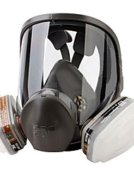 um anti-química pintura máscara abrangente pó compacto e leve confortável de usar, forte adesão