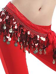 Fundos(Vermelho,Poliéster,Dança do Ventre) - deDança do Ventre-Mulheres
