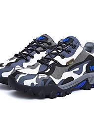 Для женщин-Для прогулок-Кожа-На плоской подошве-Удобная обувь-Кеды