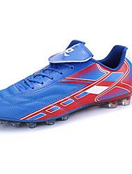 Hombre-Tacón Plano-Confort-Zapatillas de Atletismo-Deporte-Sintético-Negro / Azul