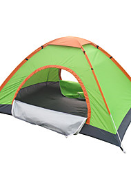Automatically open tent