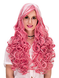 Pink wavy hair wig.WIG LOLITA, Halloween Wig, color wig, fashion wig, natural wig, COSPLAY wig