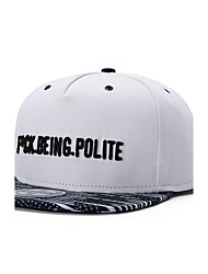 New Hip Hop Men Women Black Letter Embroidery Street Dance Baseball Caps