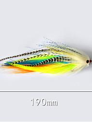 """pcs leurres de pêche Poissons nageur/Leurre dur g/Once,190 mm/7-3/4"""" pouce,Plastique souple Pêche d'appât"""