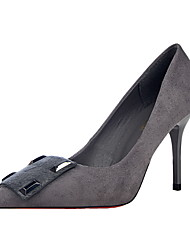 Women's Heels Summer Heels / Pointed Toe / Closed Toe Leatherette Dress Stiletto Heel Others More Colors Available