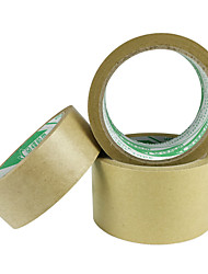 Flesh 0.8cCm 5.5Cm * 20M High Quality Environmentally Friendly Water-Free Kraft Paper Tape (Volume 3 A)