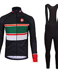 KEIYUEM®Spring/Summer/Autumn Long Sleeve Cycling Jersey+Long Bib Tights Ropa Ciclismo Cycling Clothing Suits #L108