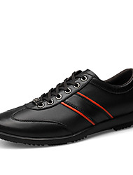 Men's Oxfords Spring Summer Fall Winter Comfort Leatherette Casual Flat Heel Others Black Gray Other