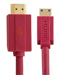 posh-e hd01017 rouge hdmi a à c