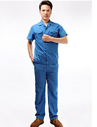Summer Short-sleeved Overalls Suit Protective Clothing  Size  180