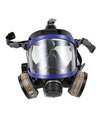 nh-9006 protetor respirador de silicone com filtro duplo cheio de cartucho químico full-facepiece