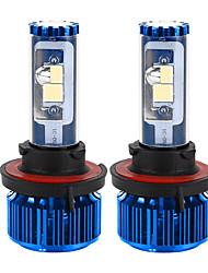 liancheng® 120w 10000lm 9 ~ 32v haute luminosité cree torchis conduit phare kit-h13 / 9008 6k 8k pour la voiture, hors route, UTV, atv