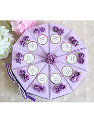 10 Piece/Set Favor Holder-Cylinder Card Paper Favor Boxes Non-personalised