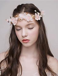 MISS DIVA Women's Tulle Headpiece Headbands 1 Piece Pink Flower 39