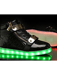 Women's Sneakers Spring / Summer / Fall / Winter Comfort Fabric / Tulle Athletic / Casual Flat Heel LED