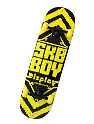 klassische Skateboard (70 * 51mm) blau / yello