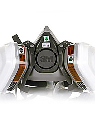 3m6200 máscara de gás respiradores laboratório qi pintura Jiantao pesquisa química