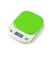кухня электронные весы (максимальный масштаб: 5 кг, зеленый)