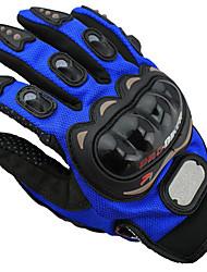 pró-motociclista luvas mcs 01c verão deslizamento resistência à queda da motocicleta do dedo completa luvas metade do dedo da bicicleta