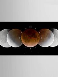 Модерн Прочее Настенные часы,Прямоугольный Холст 30 x 60cm(12inchx24inch)x1pcs/ 40 x 80cm(16inchx32inch)x1pcs В помещении Часы