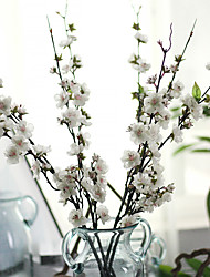Cherry Plum Chinese Simulation Flowers Wedding Leave Home Decoration European