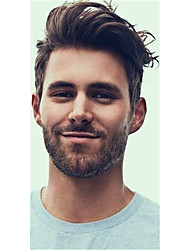 evawigs Livraison gratuite super mince peau v boucle actions hommes toupee / perruque remplacement de cheveux pour les hommes