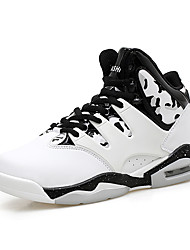 Men AIR Shockproof Basketball Shoes High-top Professional Sneakers