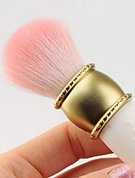 Pink Wool Material Makeup Brush