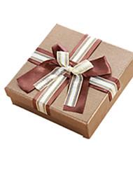 cor de ouro, outro material de embalagem&de chocolate Caixa de transporte de um pacote de dois