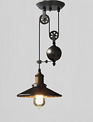 Pendant Lights Rustic/Lodge/Vintage/Retro/Country Kitchen/Hallway/Garage Metal