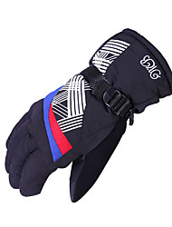 Ski Gloves Full-finger Gloves / Winter Gloves Women's / Men's / Unisex Activity/ Sports Gloves Keep Warm / Waterproof / Wearable Gloves