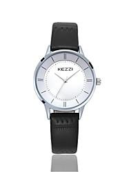KEZZI® simple style  quartz couple watches 1271D