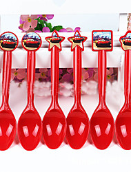 Birthday Party Tableware-1Piece/Set Cutlery Tag Plastic Classic Theme Other Non-personalised