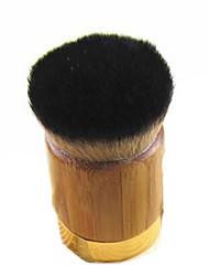 1 Pinceau Fond de Teint Pinceau en Nylon Portable Bois Visage ShangYang