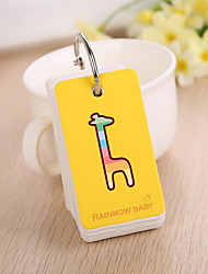 Stationery Cute Candy Colored Animal Buckle Type Small Notebook (Random Color)