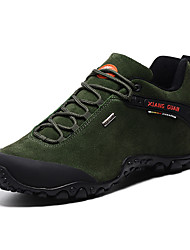 Men's Athletic Shoes Fall / Winter Comfort Suede Outdoor / Athletic Flat Heel Others Black / Green / Khaki Hiking